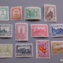 Sellos: ESPAÑA - 1936-1937 - ESTADO ESPAÑOL - EDIFIL 802/813 - SERIE COMPLETA - MNH** - NUEVOS.. Lote 168114700