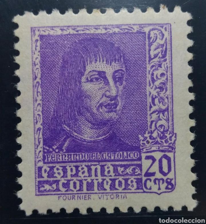 1938. 20C. FERNANDO EL CATÓLICO. ED. 842** (Sellos - España - Estado Español - De 1.936 a 1.949 - Nuevos)