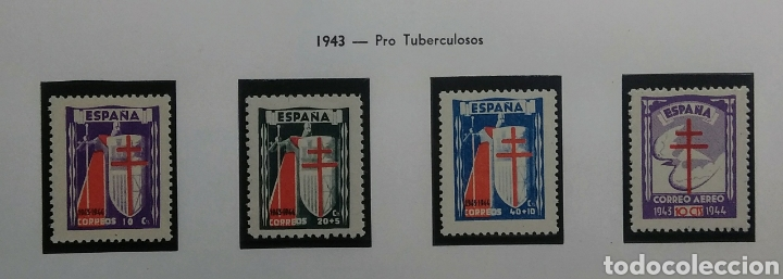 1943. PRO TUBERCULOSOS. ED. 970/973**. (Sellos - España - Estado Español - De 1.936 a 1.949 - Nuevos)