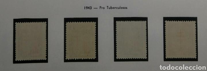 Sellos: 1943. Pro Tuberculosos. Ed. 970/973**. - Foto 2 - 168309121
