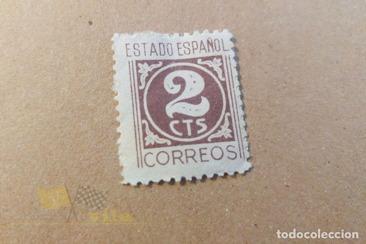 SELLOS SELLOS DEL ESTADO ESPAÑOL - 2 CÉNTIMOS (Sellos - España - Estado Español - De 1.936 a 1.949 - Usados)