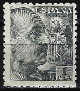 1940 ESPAÑA - FRANCO - EDIFIL 930 - MH* NUEVO CON FIJASELLOS (Sellos - España - Estado Español - De 1.936 a 1.949 - Nuevos)