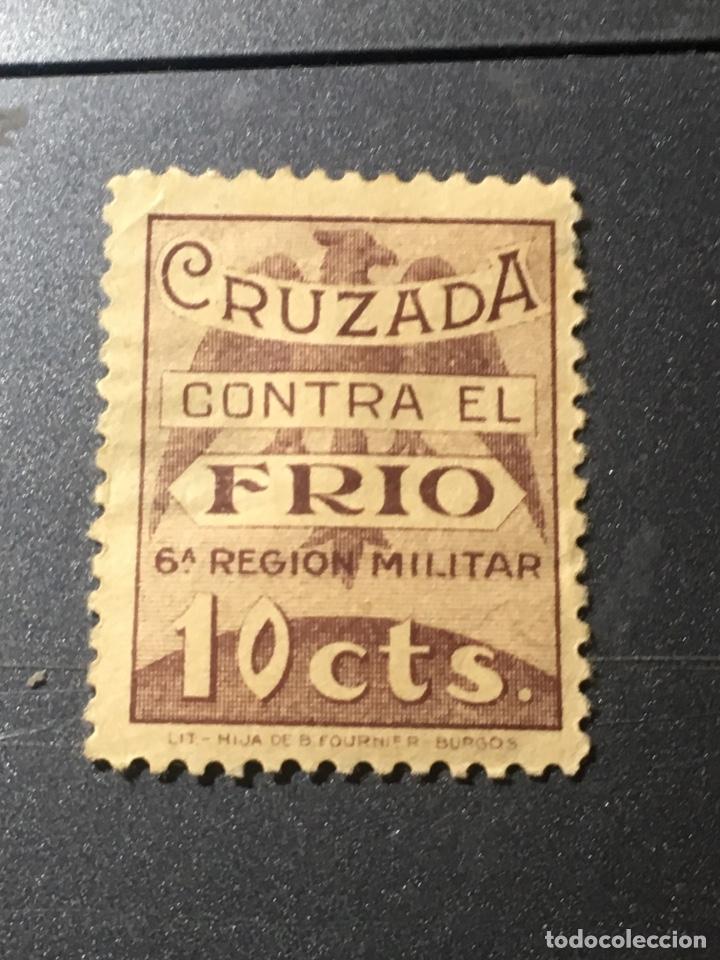 CRUZADA CONTRA EL FRÍO SEXTA REGIÓN DIEZ CTS (Sellos - España - Estado Español - De 1.936 a 1.949 - Nuevos)