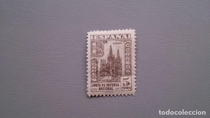 ESPAÑA - 1936-37 - ESTADO ESPAÑOL - EDIFIL 804 - MNH** - NUEVO - JUNTA DE DEFENSA NACIONAL (Sellos - España - Estado Español - De 1.936 a 1.949 - Nuevos)