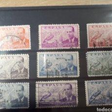 Sellos: SELLOS ESPAÑA AÑOS 1941 /1947 JUAN DE LA CIERVA LOT.N.456. Lote 171268483