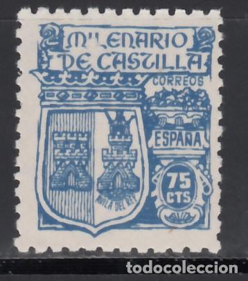 ESPAÑA, 1944 EDIFIL Nº 976 /**/, MILENARIO DE CASTILLA, (Sellos - España - Estado Español - De 1.936 a 1.949 - Nuevos)
