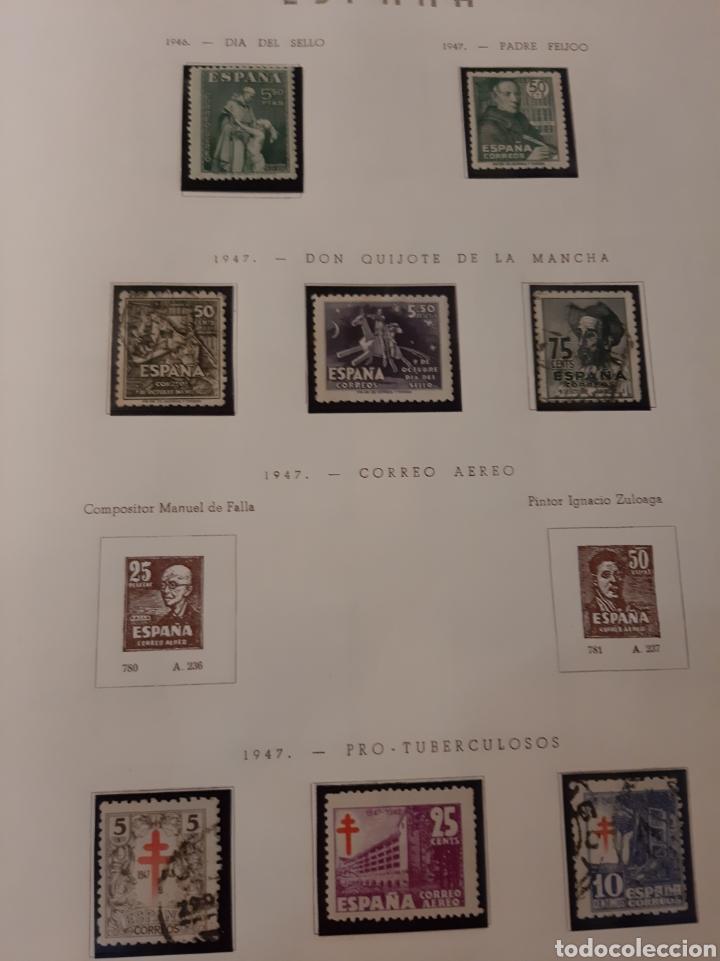 LOTE SELLOS 1946/47 ESTADO ESPAÑOL (Sellos - España - Estado Español - De 1.936 a 1.949 - Usados)