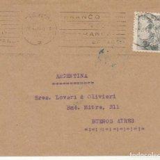 Sellos: SELLO 925. D.G.S. CENSURADO: BARCELONA A BUENOS AIRES (ARGENTINA). Lote 171539505