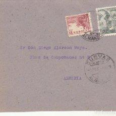 Sellos: CUEVAS DE ALMANZORA A ALMERIA.1946. . Lote 171591210
