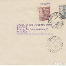 Sellos: CUEVAS DE ALMANZORA A ALMERIA.1953.. Lote 171591774
