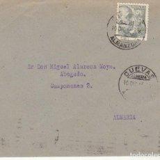 Sellos: SELLO 925. CUEVAS DEL ALMANZORA A ALMERIA. 1945.. Lote 171592349