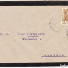 Sellos: LUTO: CUEVAS DEL ALMANZORA A ALMERIA.. Lote 171671062