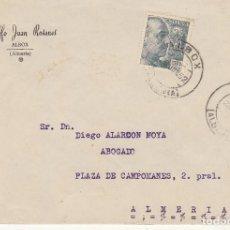 Sellos: LUTO: ALBOX A ALMERIA. 1952.. Lote 171672144