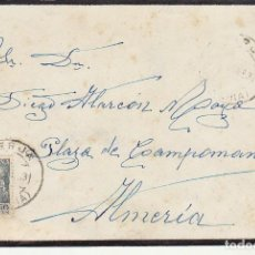 Sellos: LUTO: BERJA A ALMERIA.1953.. Lote 171672870