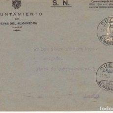 Sellos: CUEVAS DEL ALMANZORA A ALMERIA. 1945.. Lote 171673044