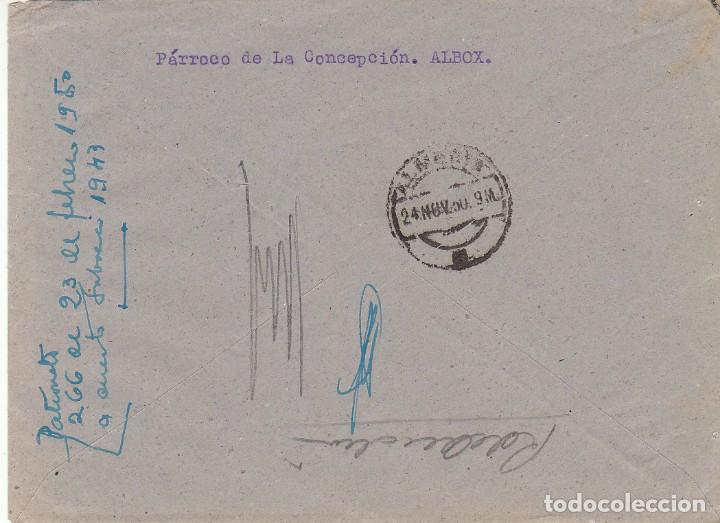 Sellos: ALBOX a ALMERIA. 1950. - Foto 2 - 171674447