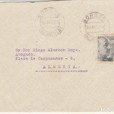 Sellos: SORBAS A ALMERIA . 1953.. Lote 171674649