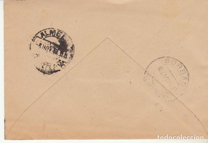 Sellos: LUTO: SORBAS a ALMERIA. 1948. - Foto 2 - 171693638