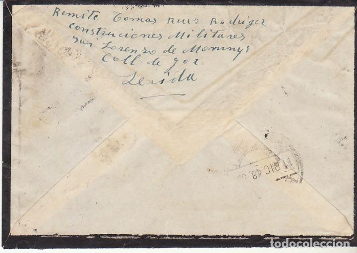 Sellos: LUTO: SEVILLA a ALMERIA.1948. - Foto 2 - 171693845
