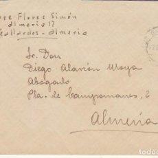 Sellos: LOS GALLARDOS A ALMERIA. 1948.. Lote 171694028