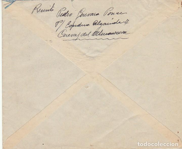 Sellos: CUEVAS DE ALMANZORA a ALMERIA.1952. - Foto 2 - 171694469