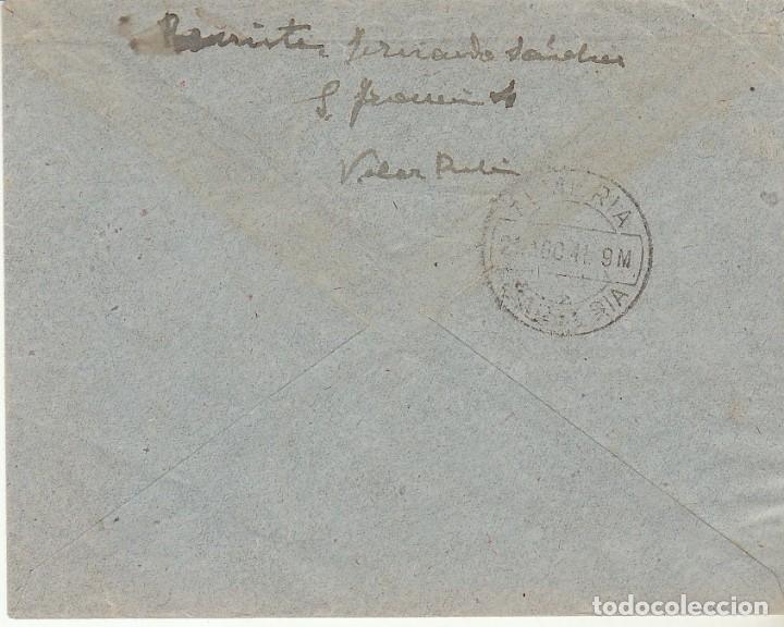 Sellos: VELEZ RUBIO a aLMERIA. 1947. - Foto 2 - 171695042