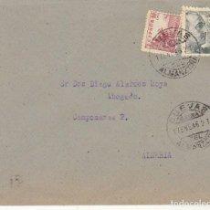 Sellos: CUEVAS DEL ALMANZORA A ALMERIA. 1946.. Lote 171696079