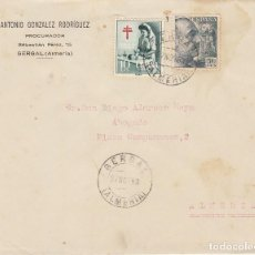 Sellos: GERGAL A ALMERIA. 1953.. Lote 171696468