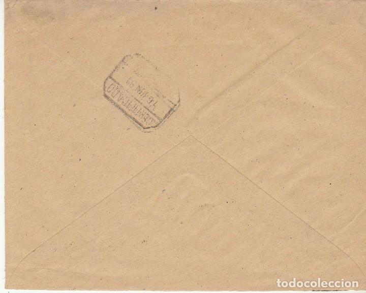 Sellos: LUTO: ALBOX a ALMERIA. 1951. - Foto 2 - 171696648