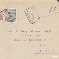 Sellos: LUTO: BERJA A ALMERIA.1945.. Lote 171696873
