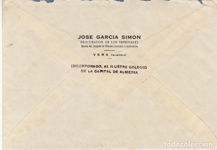 Sellos: VERA a ALMERIA. 1948. - Foto 2 - 171697147