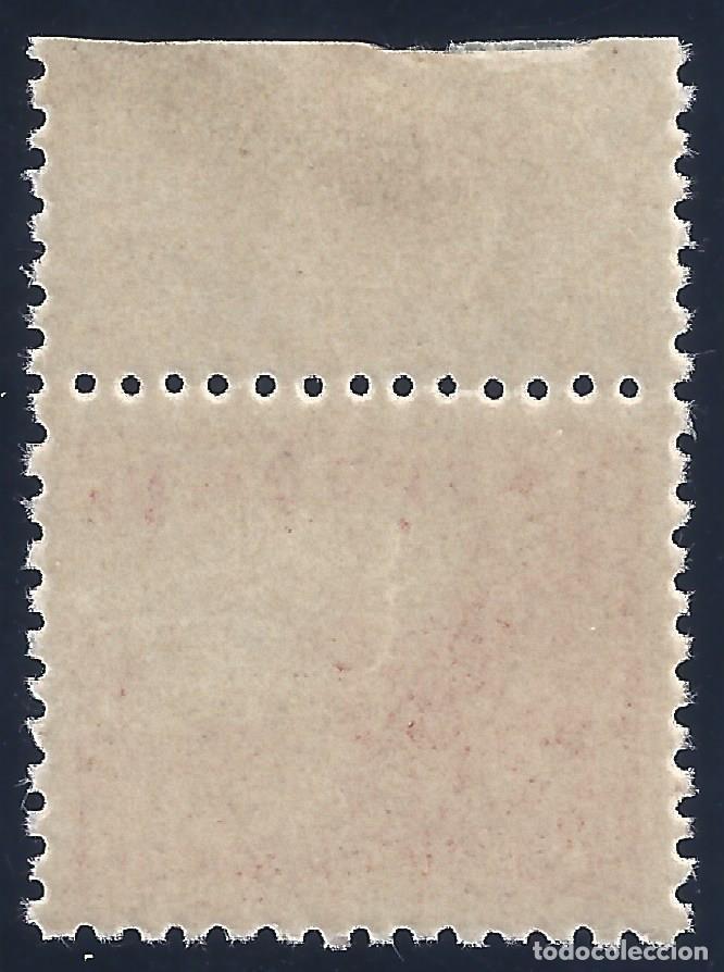 Sellos: EDIFIL 917 CIFRAS Y EL CID 1940 (VARIEDADES...FALTA CMS Y ROTURA MARCOS LATERALES). LUJO. MNH ** - Foto 2 - 171837728