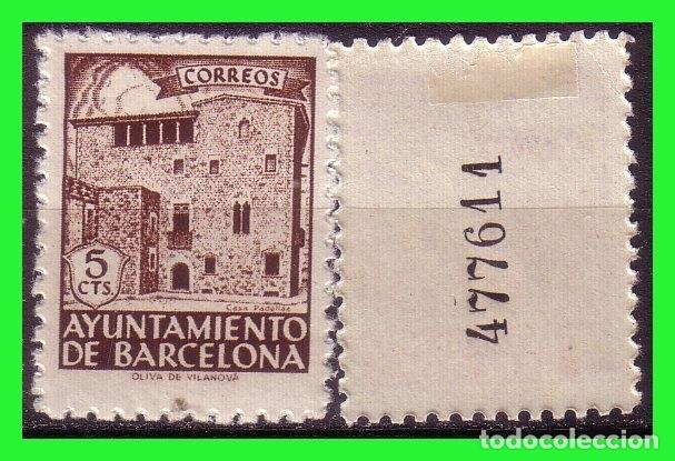BARCELONA 1943 CASA PADELLAS, EDIFILNº 42NA * VARIEDAD (Sellos - España - Estado Español - De 1.936 a 1.949 - Nuevos)
