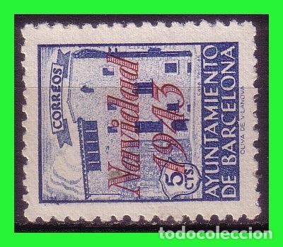 BARCELONA 1943 NAVIDAD, EDIFILNº SH54 * (Sellos - España - Estado Español - De 1.936 a 1.949 - Nuevos)