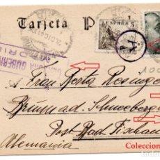 Sellos: MADRID A ALEMANIA AÑO 1941 - CENSURA MILITAR Y MARCAS ALEMANAS TIPO DIVISIÓN AZUL - TAL FOTO. Lote 172155513