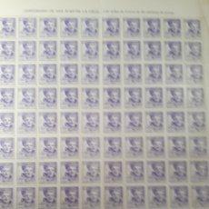 Sellos: 100 SELLOS AÑO 1942 EDIF.954 VALOR 215 EUROS. Lote 172429115
