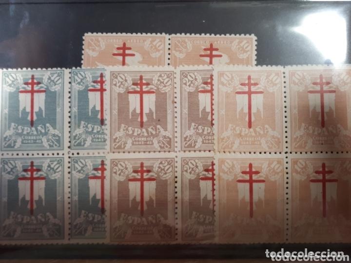 SELLOS DE ESPAÑA BLOQUE DE 4 AÑO 1942 EDIF.957/960 VALOR 54 EUROS LOT.N.1070 (Sellos - España - Estado Español - De 1.936 a 1.949 - Nuevos)
