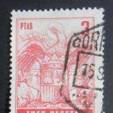 Sellos: ESPAÑA TIMBRE - FISCAL - POLIZA - 3 PESETAS. Lote 175068959