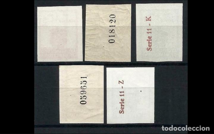 Sellos: ESPAÑA-1944 - BARCELONA EDIFIL 55/59 S - SIN DENTAR - SERIE COMPLETA - MH* - NUEVOS - VALOR CAT. 69€ - Foto 2 - 175422242