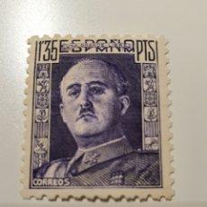 Sellos: SELLO ESPAÑA 1946-47. GENERAL FRANCO.1,35 PTS. Lote 175702874