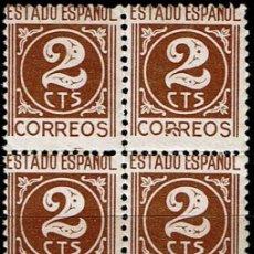 Sellos: ESPAÑA 1940 - EDIFIL 915 BLOQUE 4. Lote 176109567