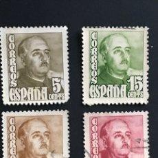 Sellos: SELLOS ESPAÑA AÑO 1948 EDIFIL 1020-1023 GENERAL FRANCO - LOS DE LA IMAGEN. Lote 176214844