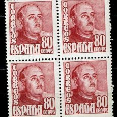 Sellos: ESPAÑA 1948 - EDIFIL 1023 BLOQUE 4. Lote 182870745