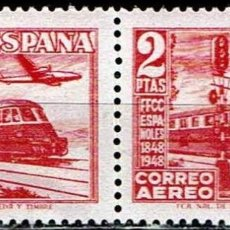 Sellos: ESPAÑA 1948 - EDIFIL 1039 PAREJA. Lote 176397623