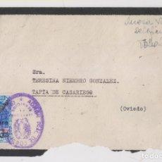 Sellos: SOBRE. CON SELLO BENÉFICO DEL PROTECTORADO. USADO EN MADRID. FRANQUICIA. 1941. Lote 176699768