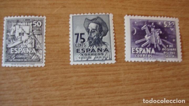 ESPAÑA 1947 EDIFIL 1012/14 CENTENARIO NACIMIENTO CERANTES NUEVOS VER FOTOS (Sellos - España - Estado Español - De 1.936 a 1.949 - Nuevos)