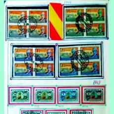 Sellos: CONJUNTO DE SERIES NUEVAS Y USADAS DEL COLEGIO HUERFANOS DE TELEGRAFOS 7 SERIES + 3 SELLOS S/ DENTAR. Lote 179011978