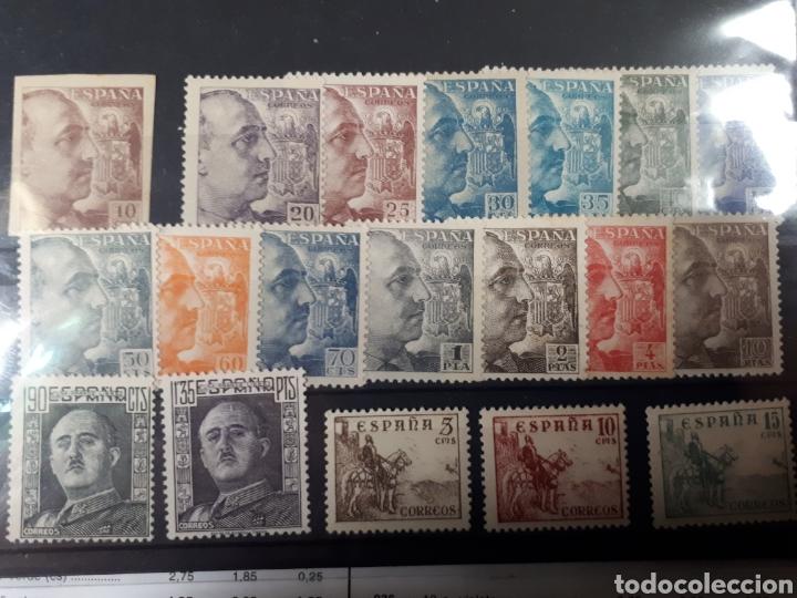 SELLOS VARIADOS DE ESPAÑA AÑOS 1949-53 LOT. E-5 (Sellos - España - Estado Español - De 1.936 a 1.949 - Nuevos)
