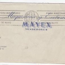 Sellos: 1959 SOBRE Y SELLOS FRANCO CON ERROR GEOGRÁFICO. Lote 179529585