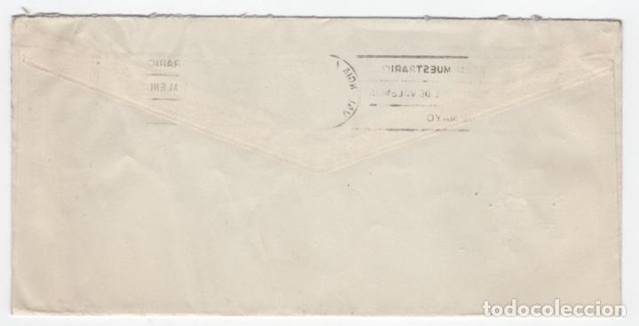 Sellos: 1959 Sobre y sellos Franco con Error Geográfico - Foto 2 - 179529585